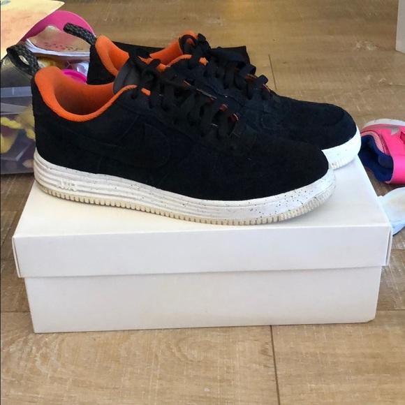 676dcdbd9e5 Nike lunar force 1 undefeated SP black orange 9.5M.  M 5b82f240283095fa3703f91d